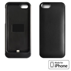 Qi Charging Case for iPhone 5S / 5 - Black