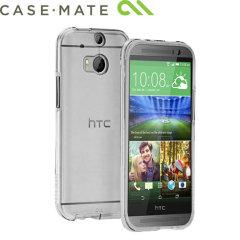 Case-Mate Tough Naked case voor de HTC One M8 2014 - Transparant