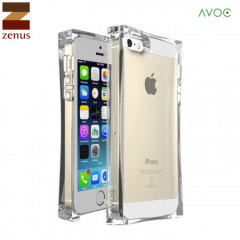 Funda Zenus Avoc Ice Cube para el iPhone 5S / 5 - Transparente