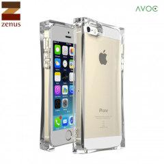 Zenus Avoc Ice Cube Case iPhone 5S / 5 Hülle in Klar