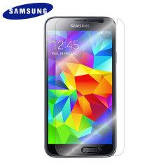 Original Samsung Displayschutzfolie für Samsung Galaxy S5 / S5 Neo