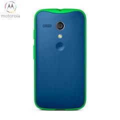 Official Motorola Grip Shell Case for Moto G - Royal Blue