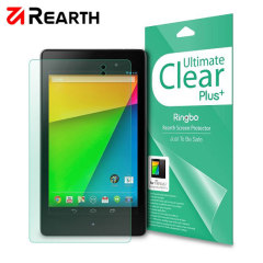 3 pack of multi-layered optical enhanced screen protectors for the Google Nexus 7 2013.