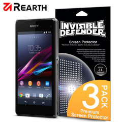 Rearth Invisible Defender 3 Pack Screen Protector Xperia Z1 Compact