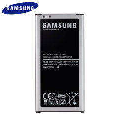 This official Samsung replacement battery for your Samsung Galaxy S5 will ensure that you have enough quality and reliable power available for your needs. Also features built-in NFC.
