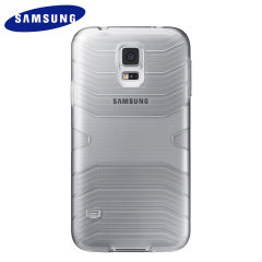 Official Samsung Galaxy S5 Protective Cover Plus Case - Grey