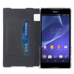 Roxfit Book Flip Case for Sony Xperia Z2 - Nero Black