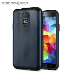 Spigen SGP Slim Armor Case for Samsung Galaxy S5 - Slate