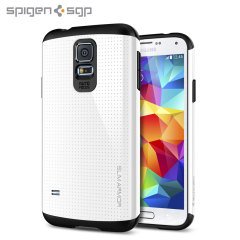 Spigen Slim Armour Case Galaxy S5 / S5 Neo Hülle in Weiß