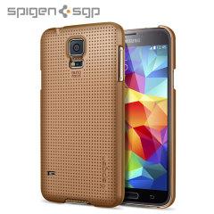 Spigen Ultra Fit Case for Samsung Galaxy S5 - Copper Gold