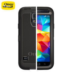 Custodia OtterBox Serie Defender per Samsung Galaxy S5 - Nero
