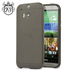 FlexiShield Case HTC One 2014 Hülle in Smoke Black