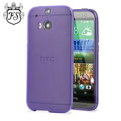 FlexiShield Skin for HTC One M8 - Purple