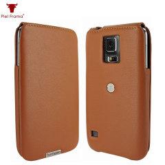 Piel Frama iMagnum for Samsung Galaxy S5 - Tan