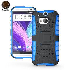 ArmourDillo Hybrid HTC One M8 Hülle in Blau