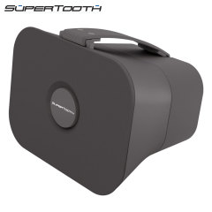 SuperTooth D4 Portable Stereo Bluetooth Speaker - Grey