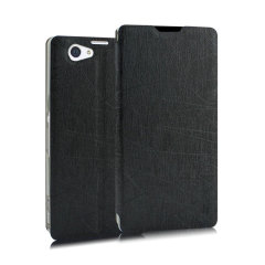 A sophisticated lightweight black textured finish case with a suction cup fastener, for ease of use. Ideal to protect your Sony Xperia Z2 and also becomes a stand.
