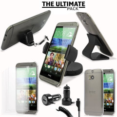 Das Ultimate Pack HTC One M8 2014 Zubehör Set