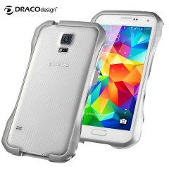 Bumper de Aluminio Draco Supernova para el Samsung Galaxy S5 - Plata