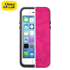 Funda Otterbox Symmetry para iPhone 5S / 5 - leopardo rosa