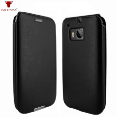 Piel Frama iMagnum HTC One M8 Leather Flip Case - Black