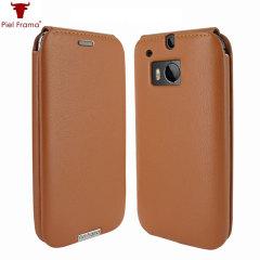 Piel Frama iMagnum HTC One M8 Leather Flip Case - Tan