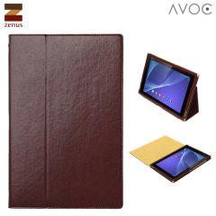 Zenus Toscana Diary für Sony Xperia Z2 Tablet in Wine