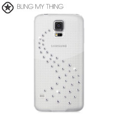 Bling My Thing Milky Way Collection Galaxy S5 Case - Crystal