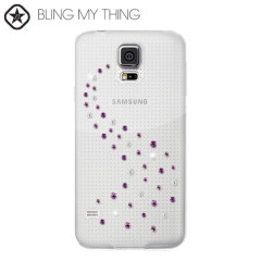 Dress up your Samsung Galaxy S5, making it sparkle and shine with this new Pink Mix Case from the Bling My Thing Milky Way Collection.