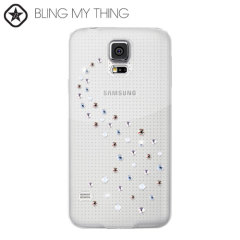 Dress up your Samsung Galaxy S5, making it sparkle and shine with this new Angel Mix Case from the Bling My Thing Milky Way Collection.