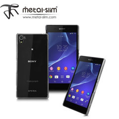 Metal-Slim Protective Case for Sony Xperia Z2 - Clear