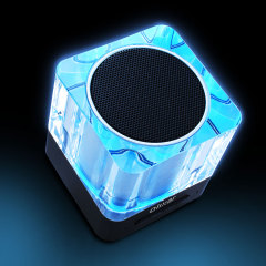 Get the party started with the Olixar Light Cube Portable Bluetooth Speaker. Featuring a stylish ice cube exterior, the Olixar Light Cube delivers exceptional music clarity with adjustable lighting options.