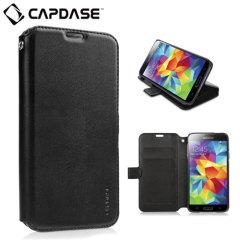 Capdase Sider Classic Folder Samsung Galaxy S5 Case - Black