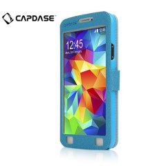 Capdase Sider Baco Samsung Galaxy S5 Folder Case - Blue