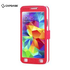 Funda Samsung Galaxy S5 Capdase Sider Baco Folder - Roja