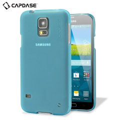 Capdase Soft Jacket Xpose Samsung Galaxy S5 Case - Tinted Blue