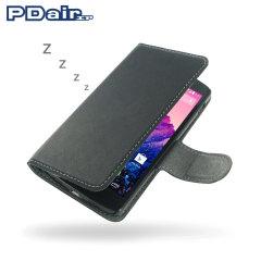 PDair Ultra Dunne Leren Book Case voor Google Nexus 5