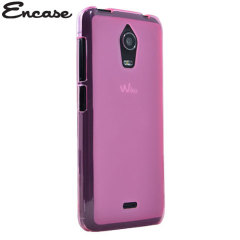 Crystal case-like protection with the durability of a silicone case for the Wiko Wax in pink.
