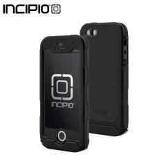 Incipio ATLAS ID Rugged Waterproof iPhone 5S Hülle in Schwarz