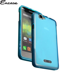 Coque Wiko Rainbow Encase FlexiShield – Bleue