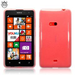 FlexiShield Nokia Lumia 625 Gel Case - Clear