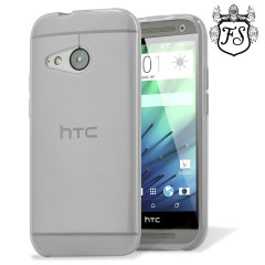 Custom moulded for the HTC One Mini 2, this frost white FlexiShield case provides slim fitting and durable protection against damage.