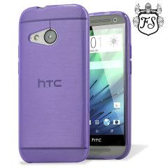 FlexiShield Case HTC One Mini 2 Hülle in Lila