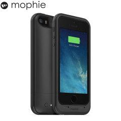 Coque Batterie iPhone 5S/5 Mophie Juice Pack Plus 2100 mAh  – Noire