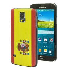 World Cup Flag Samsung Galaxy S5 Case - Spain