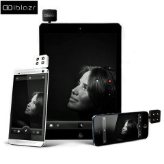 Flash LED iblazr para dispositivos Apple y Android - Negro