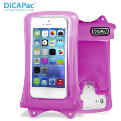 "DiCAPac Universal Waterproof Case for Smartphones up to 4.8"" - Pink"