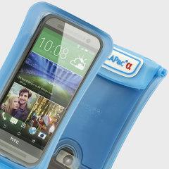 DiCapac wasserdichte Smartphone Hülle bis zu 5.7 Zoll in Blau