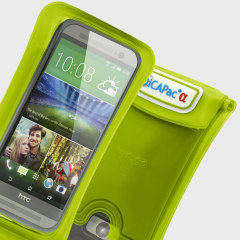 DiCapac wasserdichte Smartphone Hülle bis zu 5.7 Zoll in Grün
