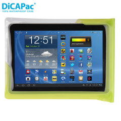 DiCAPac 100% Universele Waterproof Tablet Case 10.1 inch - Groen